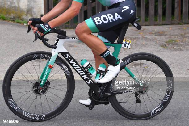 Rudiger Selig of Germany and Team Bora Hansgrohe / Specialized Bike / Tacx stare bottle / during the 70th Criterium du Dauphine 2018 Stage 4 a 181km...