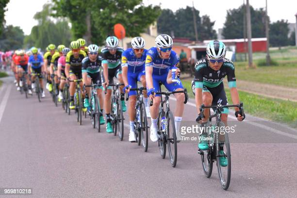 Rudiger Selig of Germany and Team Bora-Hansgrohe / Remi Cavagna of France and Team Quick-Step Floors / Feeding / Eros Capecchi of Italy and Team...