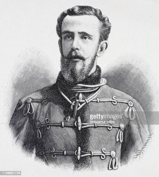 Rudolf Crown Prince of Austria Rudolf Franz Karl Joseph borb 21 August 1858 died 30 January 1889 digital improved reproduction of a woodcut from the...