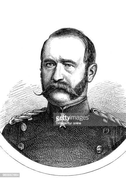 Rudolf Ferdinand von Kummer, April 11, 1816 - May 3 was a Prussian officer, last General of the Infantry, German-French campaign of 1870, digital...