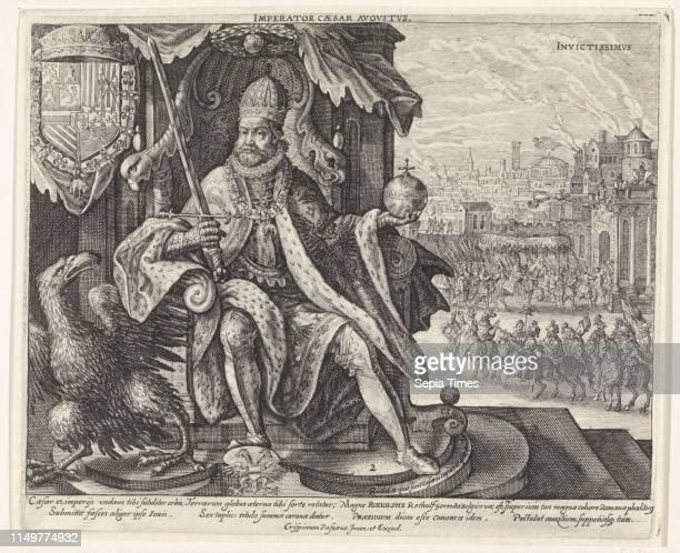 Rudolf II of Habsburg, Crispijn van de Passe , Crispijn van de Passe , 1611