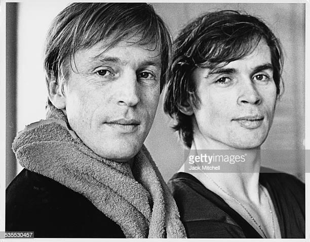 Rudolf Nureyev and Erik Bruhn photographed January 20 1962