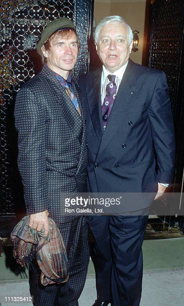 Rudolf Nureyev and John Taras during Dinner Reception for the Wedding of Lee Radziwill and Herb Ross at Jackie Kennedy Onassis' 5th Avenue Apartment...