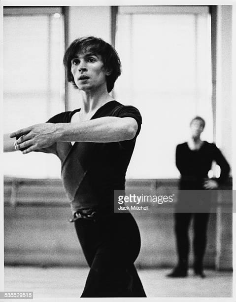Rudolf Nureyev photographed in 1965