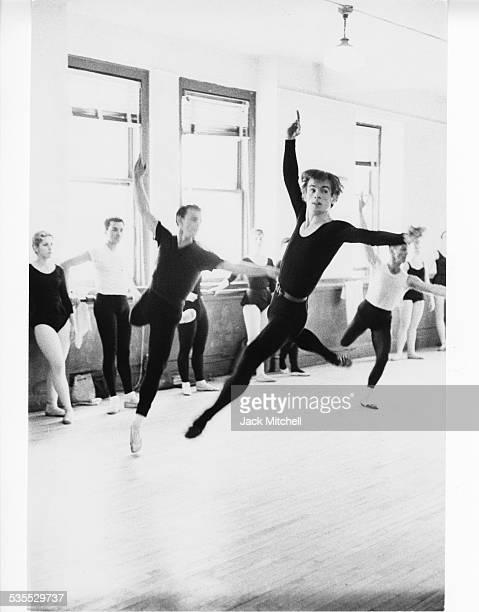 Rudolf Nureyev photographed January 24 1962