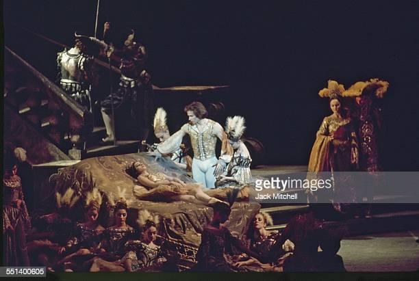 Rudolf Nureyev starring in National Ballet of Canada's Sleeping Beauty 1972