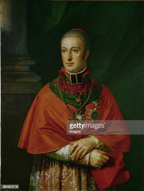 Rudolf of Austria Archduke Cardinal Archbishop of Olmuetz protector of Beethoven founder of the Gesellschaft der Musikfreunde in Vienna [Rudolf von...