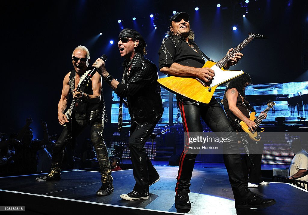 Scorpions And Cinderella Perform At The Nokia Theatre At L.A. Live