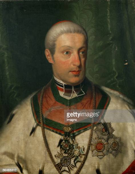 Rudolf von Habsburg Cardinal and Archbishhop of Olmuetz The Archduke was Beethoven's pupil since 1803 and the two men became friends Since 1809...