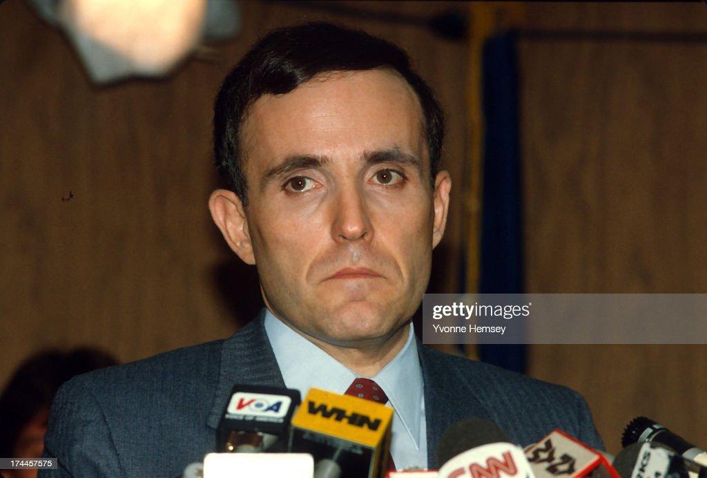 Rudy Giuliani : News Photo