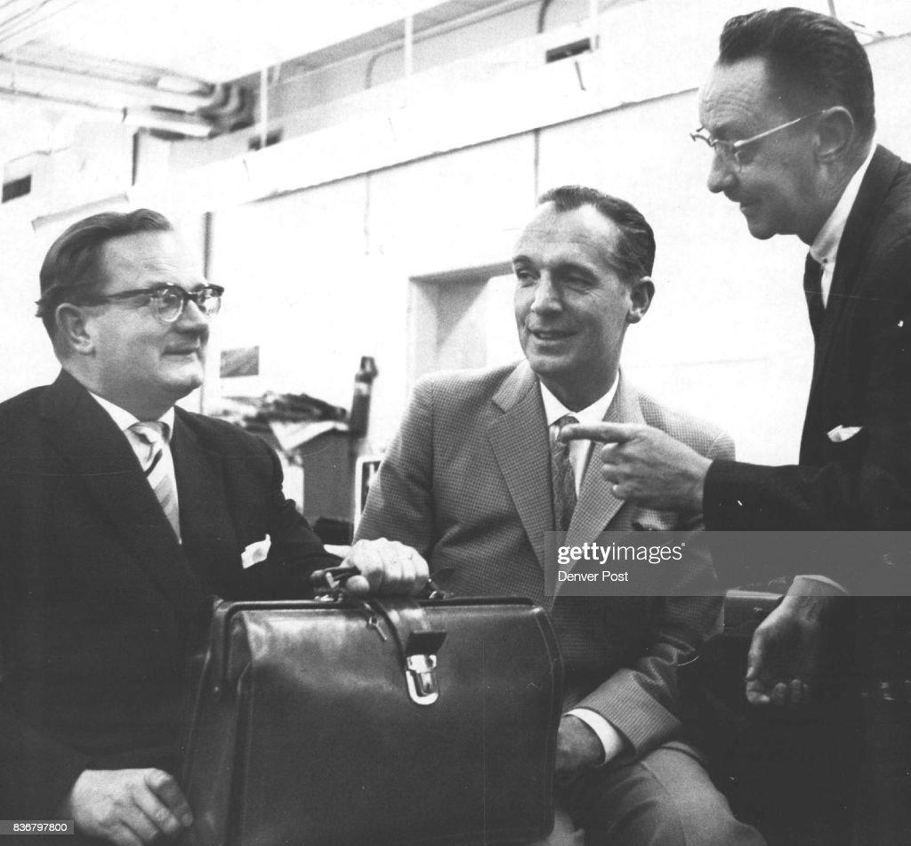 Rudolph Lange, Rhein-Main Manager, And Peter Schauer