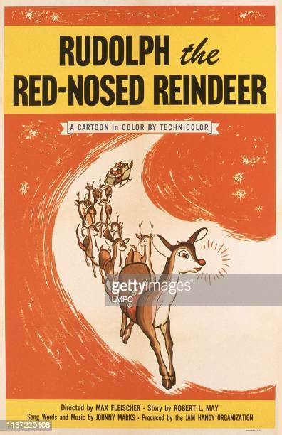 Rudolph The Rednosed Reindeer poster US poster Rudolph the RedNosed Reinder 1948