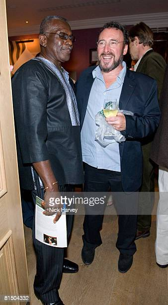 """Rudolph Walker and Anthony Sher attend """"Cries from the Heart"""" presented by Human Rights Watch at the Theatre Royal Haymarket on June 8, 2008 in..."""