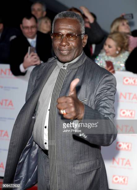 Rudolph Walker attends the National Television Awards 2018 at the O2 Arena on January 23 2018 in London England
