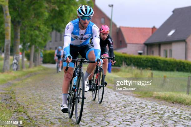 Rudy Barbier of France and Team Israel Cycling Academy / Cobblestones / during the 89th Baloise Belgium Tour 2019, Stage 2 a 180,8km stage from...