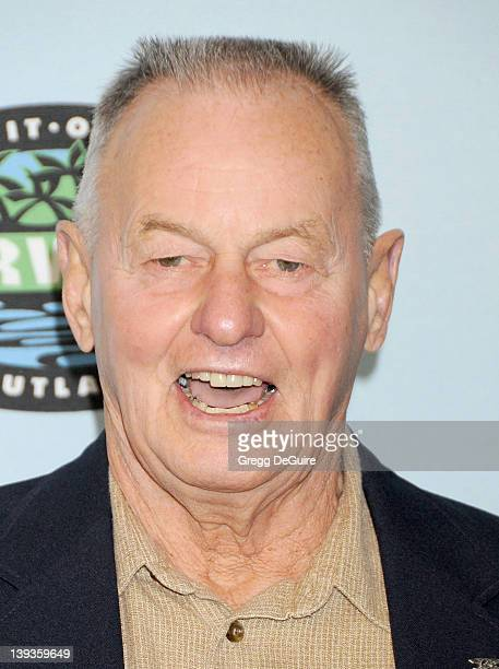 Rudy Boesch arrives at Survivor 10 Year Anniversary Party at CBS Television City on January 9 2010 in Los Angeles California