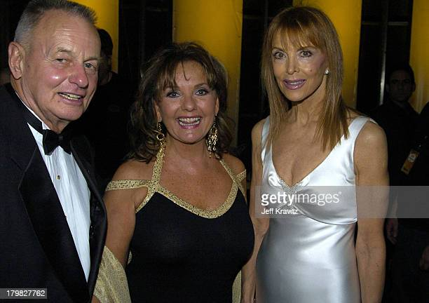 Rudy Boesch Dawn Wells and Tina Louise during 2004 TV Land Awards Airing March 17 2004 Backstage/Audience at The Pallidium in Hollywood California...