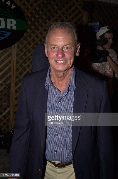 Rudy Boesch during Survivor finale party at Television City in Los Angeles California United States