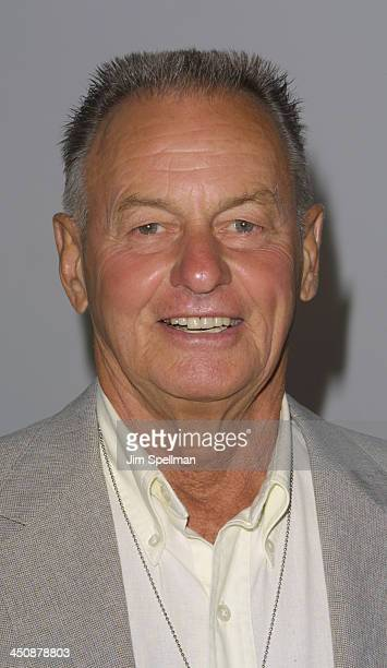 Rudy Boesch during USA Network's Opening Night Premiere at the 2001 US Open at Arthur Ashe Stadium in Flushing Meadows New York United States