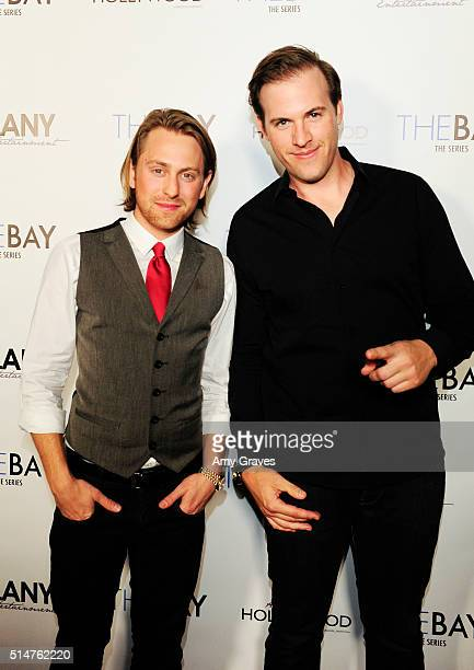 Rudy Boyd and Eric Knowlson attends the 5th Annual LANY Entertainment Mixer at St Felix on March 10 2016 in Hollywood California