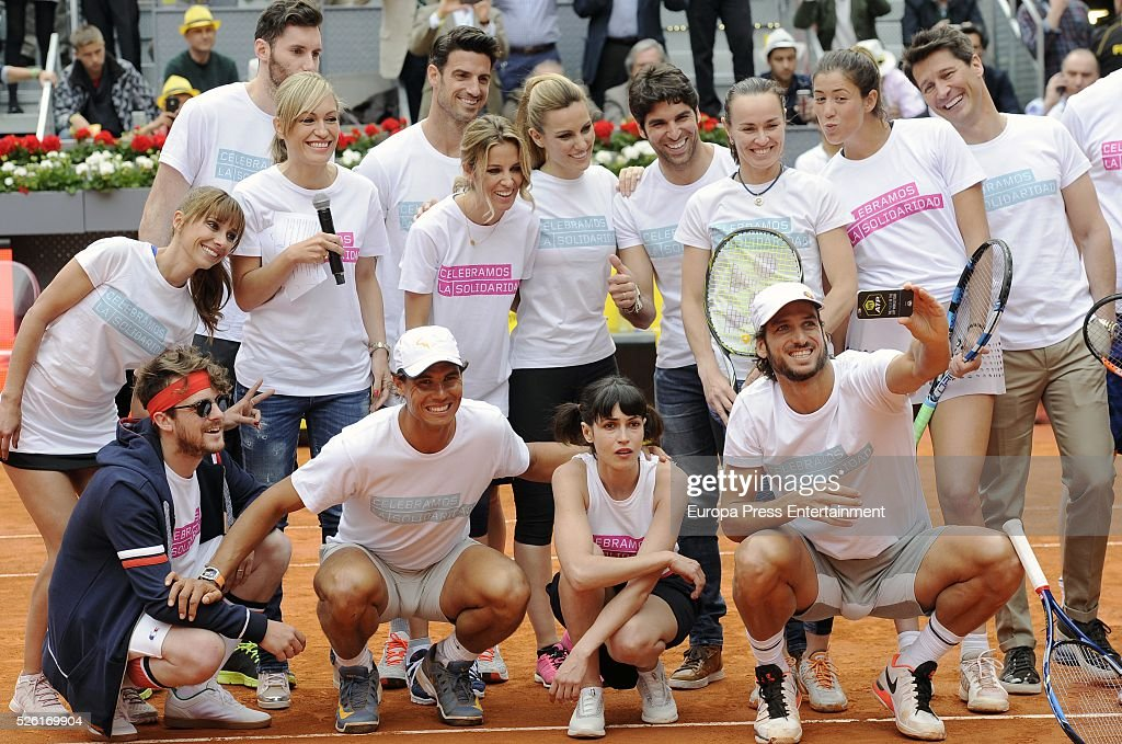 Charity Day Tournament at Mutua Madrid Open
