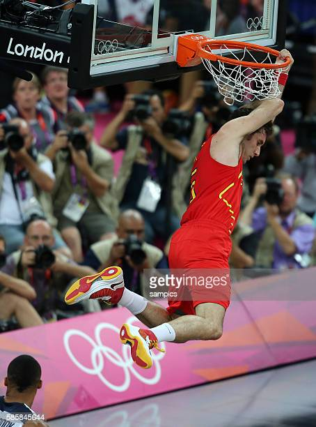 Rudy Fernandez ESP Basketball Final Finale USA - Spanien USA Spain Olympische Sommerspiele in London 2012 Olympia olympic summer games london 2012