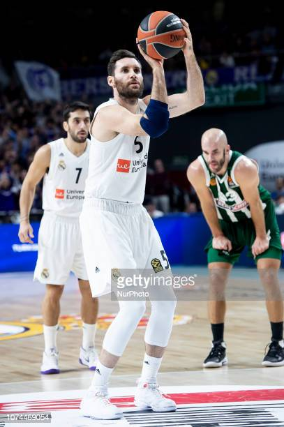 Rudy Fernandez of Real Madrid during Turkish Airlines Euroleague match between Real Madrid and Panathinaikos Opap Athens at Wizink Center in Madrid...