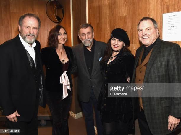Rudy Gatlin Pam Tillis Ray Stevens Deborah Allen and Steve Gatlin attend Singer/Songwriter/Comedian Member of both The Nashville Songwriters Hall of...
