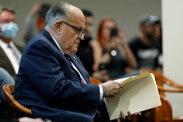 MI: Rudy Giuliani Appears Before Michigan State Legislature's House Oversight Committee