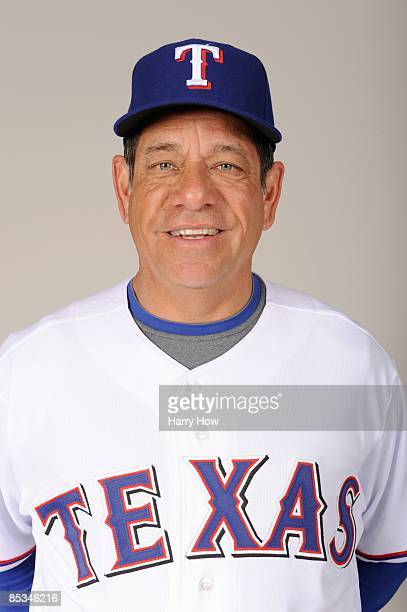 Rudy Jaramillo of the Texas Rangers during photo day at Surprise Stadium on February 24 2009 in Surprise Arizona