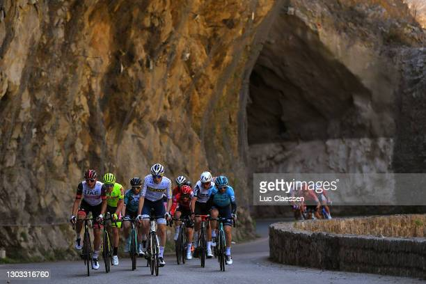 Rudy Molard of France and Team Groupama - FDJ, Anthony Perez of France and Team Cofidis Solutions Credits, David De La Cruz Melgarejo of Spain and...