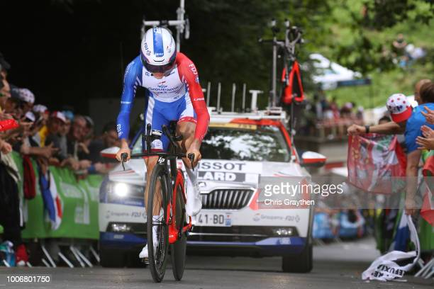 Rudy Molard of France and Team Groupama FDJ / during the 105th Tour de France 2018, Stage 20 a 31km Individual Time Trial stage from...