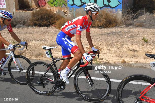 Rudy Molard of France and Team Groupama FDJ Red Leader Jersey / during the 73rd Tour of Spain 2018, Stage 6 a 155,7km stage from Huercal-Overa to San...