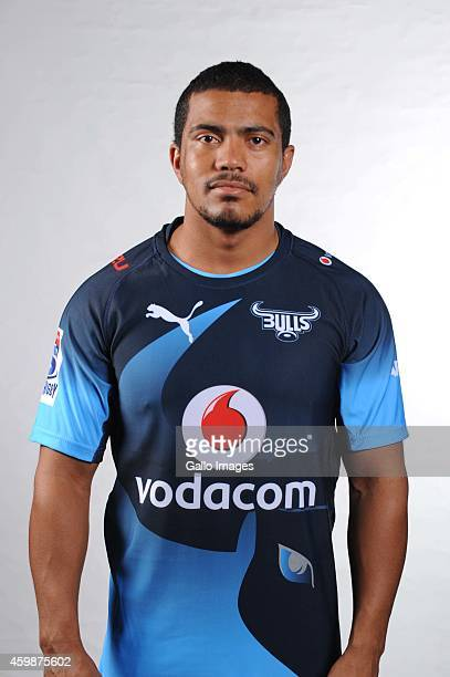 Rudy Paige during the Vodacom Bulls Super Rugby headshots session at Loftus Versfeld on December 02 2014 in Pretoria South Africa