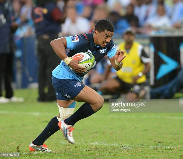 Rudy Paige of the Bulls during the Super Rugby match between Vodacom Bulls and Cell C Sharks at Loftus Versfeld on February 28 2015 in Pretoria South...