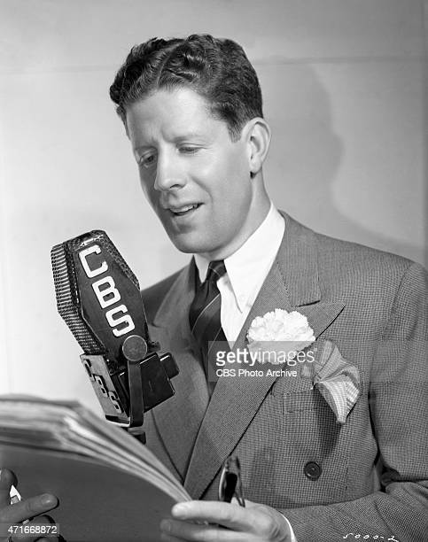 Rudy Vallée as a performer on CBS Radio Vallée was an American singer actor bandleader and entertainer popular in the 1930s and 1940s known as the...