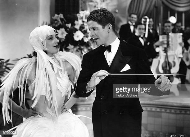 Rudy Vallee and Ann Dvorak star in 'Sweet Music' a musical romance between an orchestra leader and a singer directed by Alfred E Green for Warner...