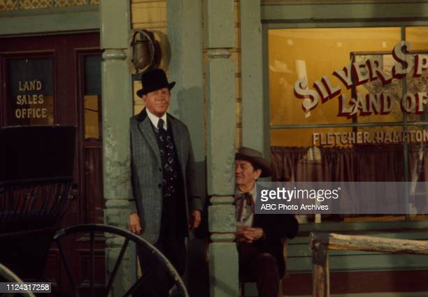 Rudy Vallee extra appearing in the Walt Disney Television via Getty Images series 'Alias Smith and Jones' episode 'Dreadful Sorry Clementine'