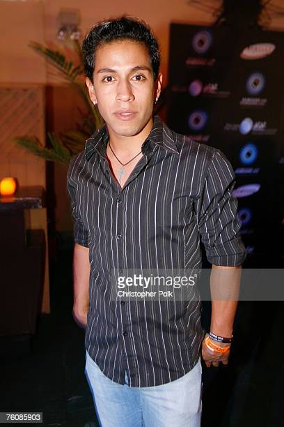 Rudy Youngblood at the Samsung Summer Krush Tour at the Music Box Theatre on August 13 2007 in Los Angeles California