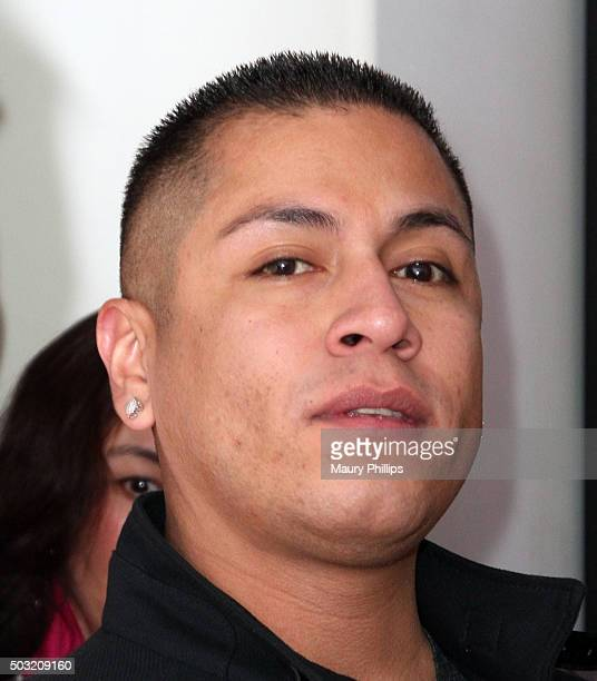 Rudy Youngblood attends eZWay Magazine pre release event on December 19 2015 in Los Angeles California