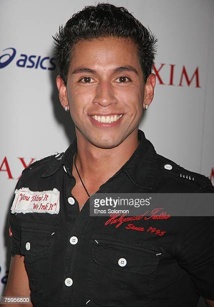 Rudy Youngblood attends MAXIM Magazine's ICU Celebration of Extreme Sports at Area on August 2 2007 in West Hollywood California