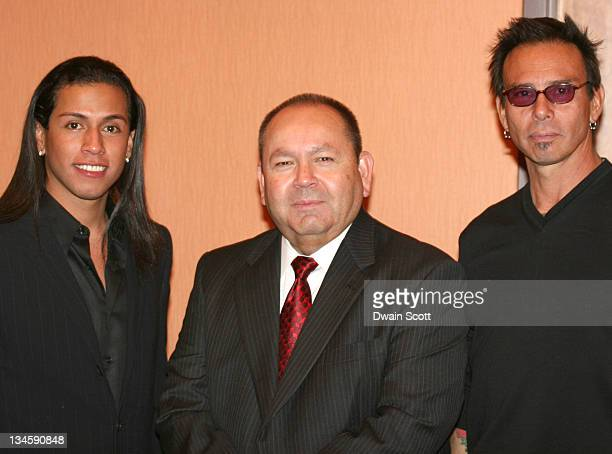 Rudy Youngblood Bill Anoatubby Governor of the Chickasaw Nation and Raoul Trujillo