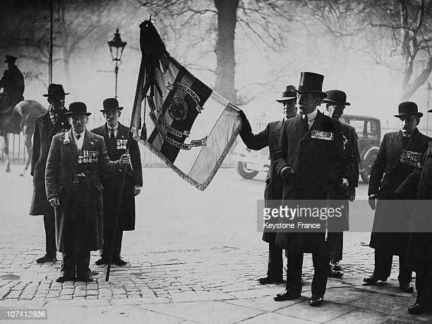 Rudyard Kipling Memorial Service At Westminster Abbey In London On January 24Th 1936