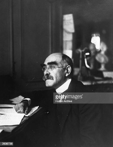 Rudyard Kipling , the English author.