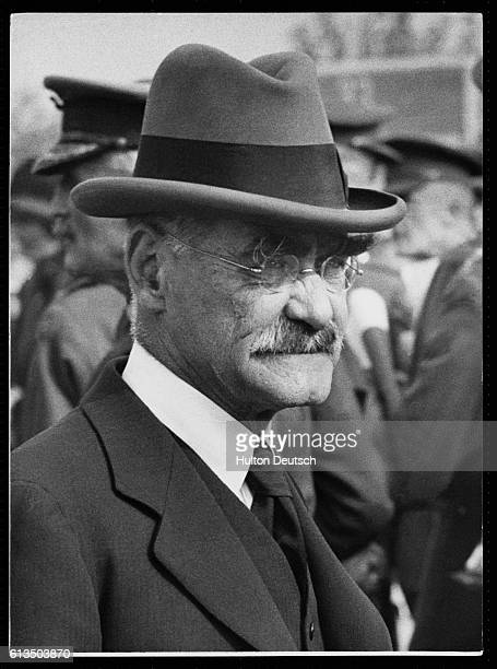Rudyard Kipling the English writer born in India, he is best known for Jungle Book, Just So Stories and the poem If, 1927.