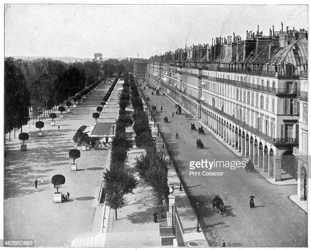 Rue de Rivoli Paris late 19th century Photograph from Portfolio of Photographs of Famous Scenes Cities and Paintings by John L Stoddard published by...