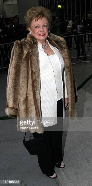Rue McClanahan during Monty Python's Spamalot Opening Night on Broadway Arrivals at The Shubert Theater in New York City New York United States