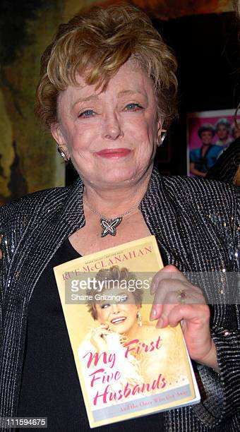 Rue McClanahan during Rue McClanahan Stops By Barracuda To Promote Her New Autobiography My First Five Husbands And the Ones Who Got Away at...