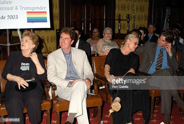 Rue McClanahan Rob Marshall Sharon Gless and Gale Harold