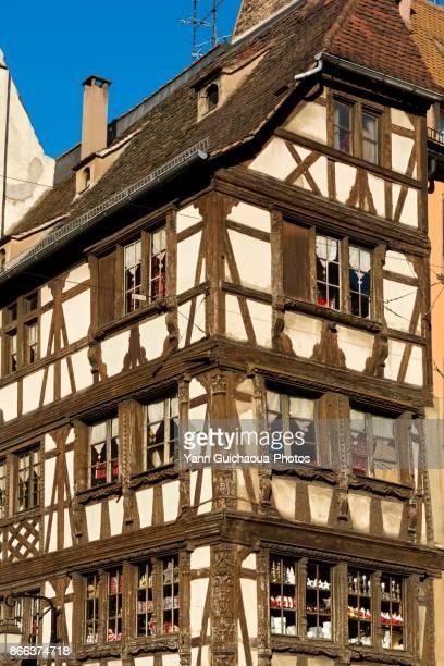 Rue Merciere, Strasbourg, Bas Rhin,Alsace, France